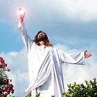 Resurrected Jesus - Jesus Christ Resurrected from the Tomb by Rick Short