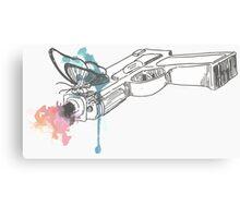 Life is Strange Gun Watercolored Canvas Print