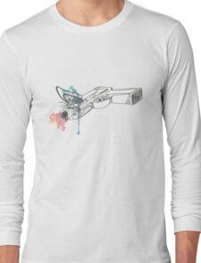 Life is Strange Gun Watercolored Long Sleeve T-Shirt