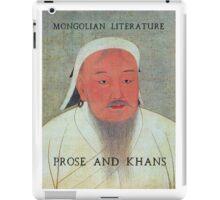 Prose and Khans iPad Case/Skin