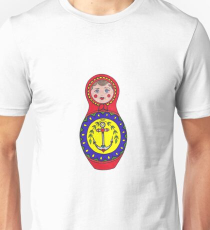 Matryoshka Color Unisex T-Shirt