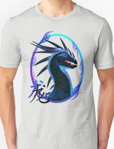 Horned Black Dragon and Symbol T-Shirt