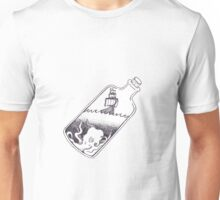 Ship In A Bottle Unisex T-Shirt