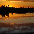 Hexham River Sunset by Catherine Davis