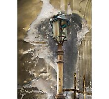 Lucca Lamp Photographic Print