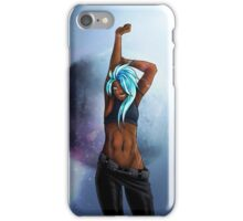 Synthetic Azure iPhone Case/Skin