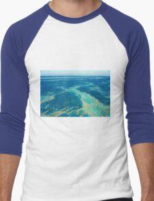 The Great Barrier Reef © Vicki Ferrari Men's Baseball ¾ T-Shirt