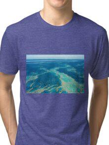 The Great Barrier Reef © Vicki Ferrari Tri-blend T-Shirt