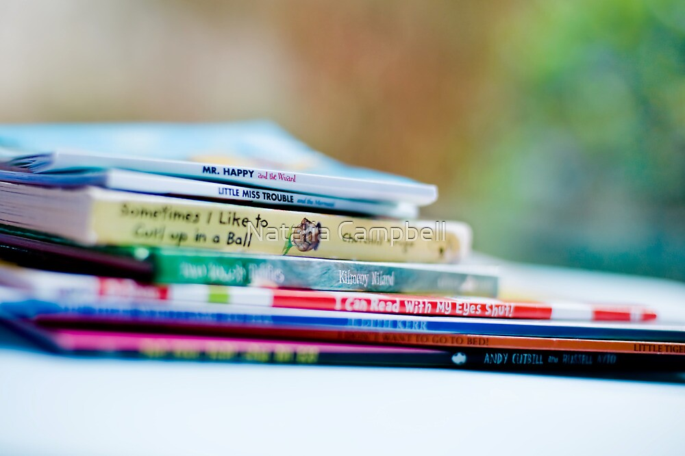 there are many little ways to enlarge your child's world...love of books is the best of all. by Natalia Campbell