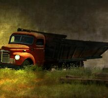 Ghost Truck by Vickie Emms
