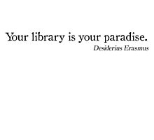 Library Paradise by Fiona Doyle