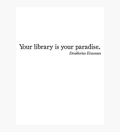 Library Paradise Photographic Print
