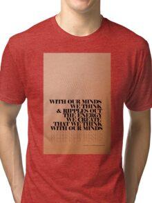 Mind Tripping Ripples © Vicki Ferrari Photography  Tri-blend T-Shirt