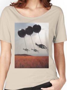 Black Balloons Women's Relaxed Fit T-Shirt