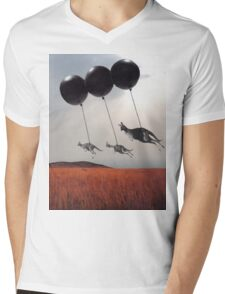 Black Balloons Mens V-Neck T-Shirt