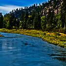 The River, Early Fall by Bryan D. Spellman