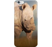 Young white Rhino! iPhone Case/Skin