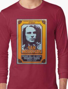 van morrison poster Long Sleeve T-Shirt