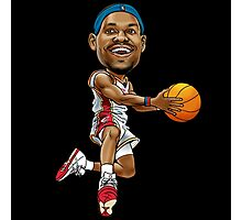 Lebron cartoon Photographic Print