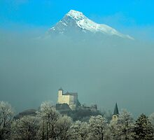 Burg Gutenberg und Alvier by photojam