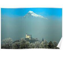 Burg Gutenberg und Alvier Poster