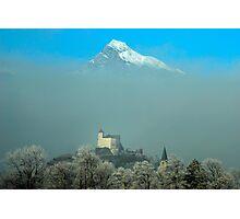 Burg Gutenberg und Alvier Photographic Print
