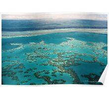 Great Barrier Reef © Vicki Ferrari Poster