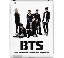 BTS Bangtan Boys iPad Case/Skin