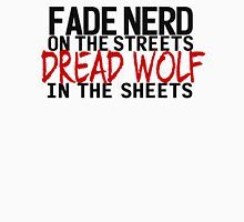 Fade Nerd on the Streets, Dread Wolf in the Sheets Mens V-Neck T-Shirt