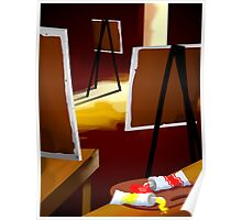 drawing boards Poster