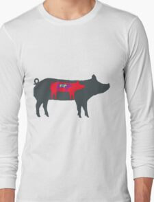 Pigs in Pigs in Pigs Long Sleeve T-Shirt
