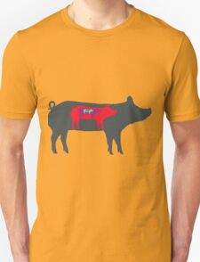 Pigs in Pigs in Pigs Unisex T-Shirt