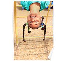 Upside Down Fun Poster