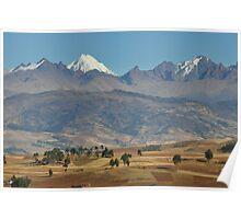 Atacama mountain range, Peru Poster