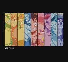 one piece luffy zoro sanji straw hat crew anime manga shirt by ToDum2Lov3