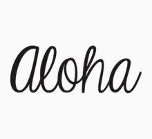 Aloha by Chelsea Punzalan