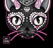 Day of the Kitty PINK by Miss Cherry  Martini