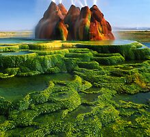 Green Fly Geyser by Inge Johnsson