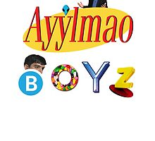 Ayy LMAO Boyz - Official Crew Shirt by anfantast