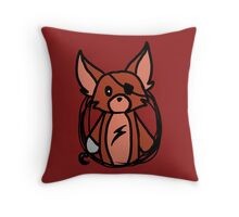 Fnaf Chibi Foxy Throw Pillow