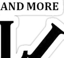 Lies, Lies and More Lies Sticker