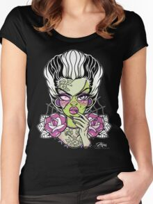 Frankenstein's Bride  Women's Fitted Scoop T-Shirt