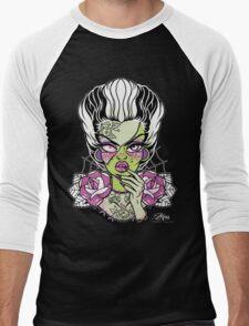 Frankenstein's Bride  Men's Baseball ¾ T-Shirt