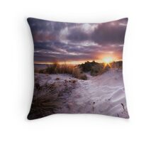 The Setting Sun Throw Pillow