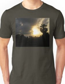 Sunrise and Storm Clouds Unisex T-Shirt
