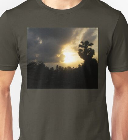 Sunrise and Storm Clouds Unisex T-Shirt