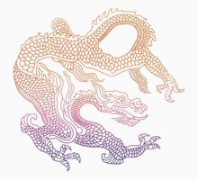 Chinese Sun Dragon  by Illustratorial