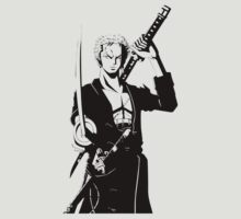 one piece roronoa zoro anime manga shirt by ToDum2Lov3