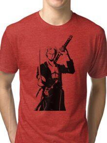 one piece roronoa zoro anime manga shirt Tri-blend T-Shirt