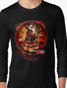 Tokisaki Kurumi Black Date-a-Live Anime T-shirt Long Sleeve T-Shirt